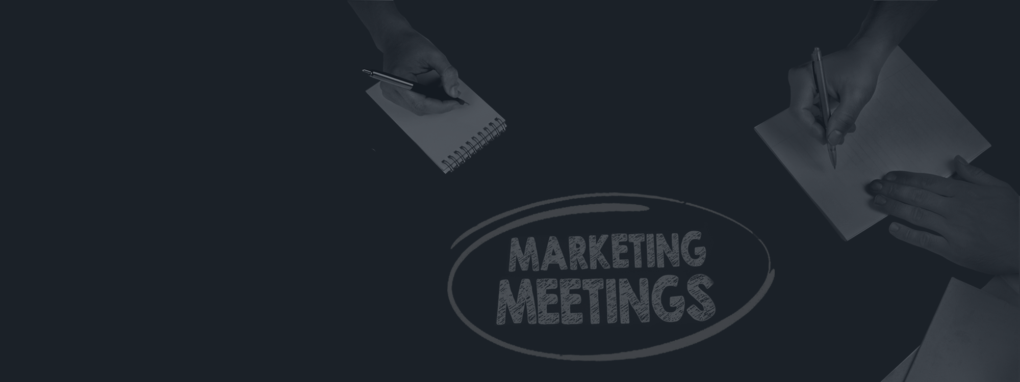 Tech firms sharing how they run meetings in marketing departments